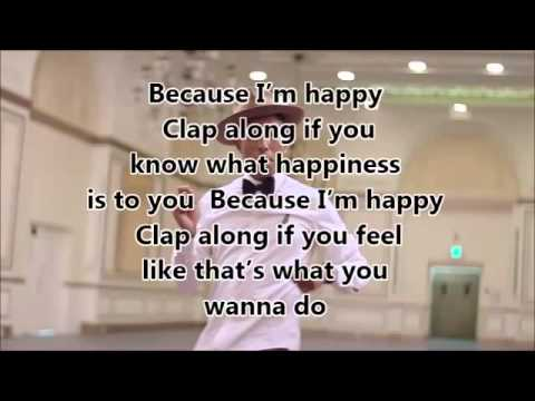 Pharrell Williams Happy mit lyrics