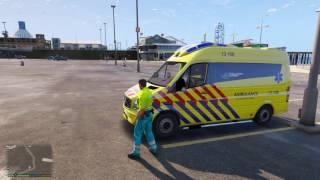 GTA 5 ambulance! - Nieuwe ambulance mod!