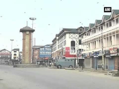 Curfew imposed in parts of Srinagar