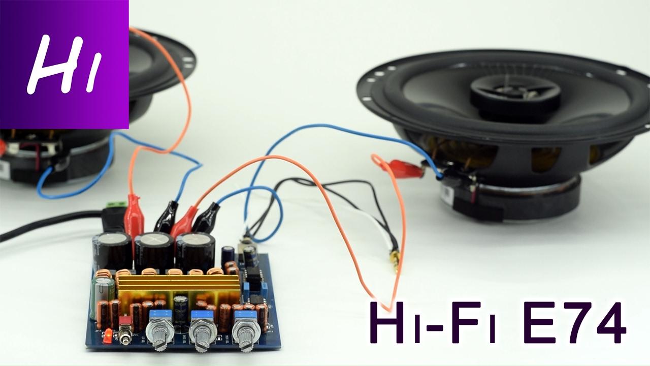 Усилитель звука своими руками hi-fi