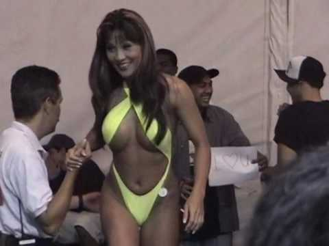 Bikini Contest Hi-Octane Night 50th State Fair Aloha Stadium Honolulu Oahu Hawaii 2002