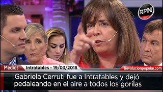 *TITÁNICA* Batalla de Gabriela Cerruti en Intratables