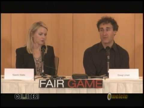 Naomi Watts and Doug Liman Interview FAIR GAME