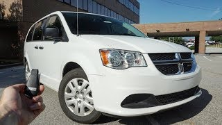 2019 Dodge Grand Caravan SE: Start Up, Test Drive, Walkaround and Review