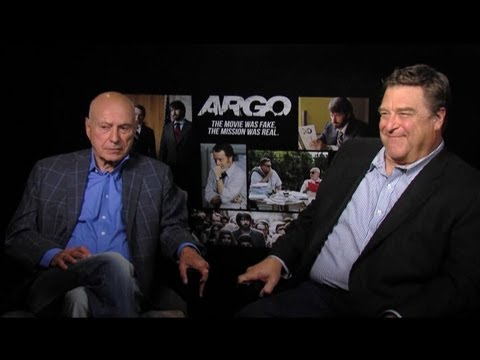 Alan Arkin & John Goodman - Argo Interview with Tribute
