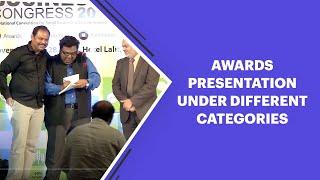 Awards presentation under different