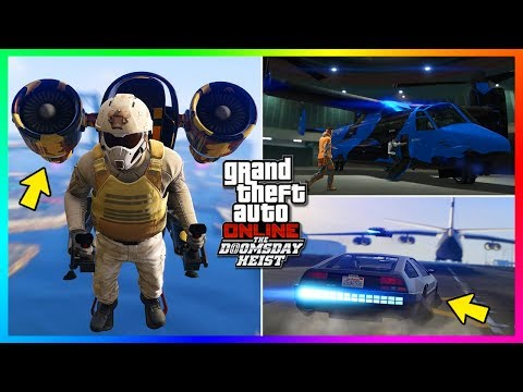 GTA Online The Doomsday Heist DLC NEW Features, MAJOR Updates, INSANE Changes & MORE! (GTA 5 DLC)