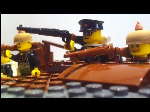 Lego WW1/Battlefield 1 Battle of Aubers Ridge Stop motion