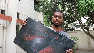 HP Omen 15 Unboxing( gtx 1050 ti ) Best Video Editing Laptop Under 1 lakh 20 thousand!