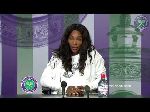 Serena Williams pre-Championships press conference