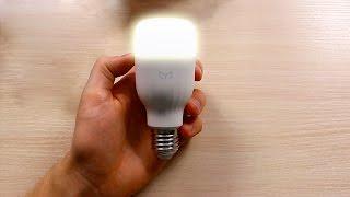 LED Лампочка Xiaomi Yeelight E27   Распаковка   Комплектация   Первые Впечатления