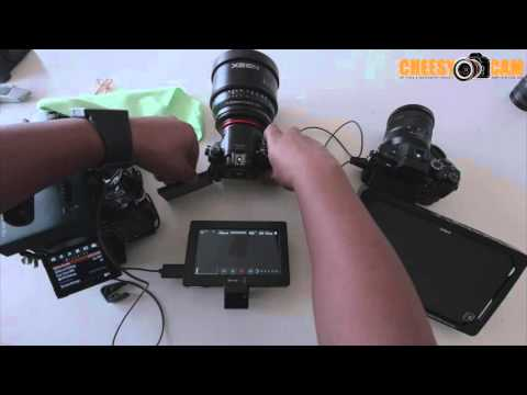 BlackMagic Design Video Assist Recorder Monitor and Sony A7sII A7rII 60p Bug