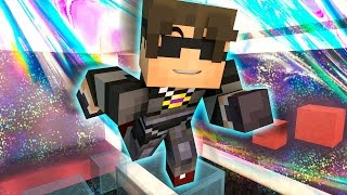 OVERWHELMING MEGA RAGE! | Minecraft Mini-Game HOLOGRAM PARKOUR! /w Facecam