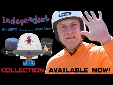 Gonz Goes to Bitburg: Mark Gonzales for Independent Trucks