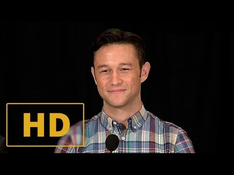 Don Jon Press Conference #1 - Joseph Gordon-Levitt, Scarlett Johansson Interview HD (2013)