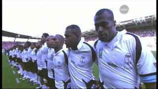 Flying Fijians National Anthem - Rugby in HD