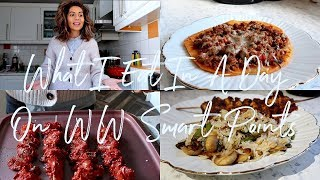 What I Eat In A Day On WW Weight Watchers Smart Points | Natasha Summar