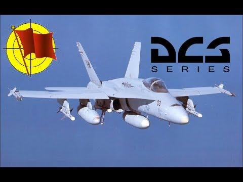 DCS World: F/A-18C Hornet - Часть 5 - Навигация по ADF и TACAN (перевод ролика Мэтта Вагнера)