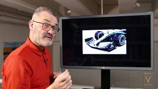2019 F1 Mercedes analysed by Scarbs