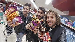 download musica Visitando un supermercado en ESPAÑA ft Wismichu y Auronplay