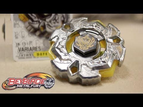 Hasbro Beyblade VariAres 145WB : Metal Fury - UNBOXING & REVIEW!!