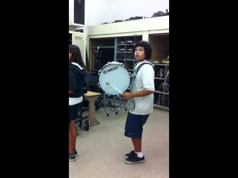Madison MIddle School Drumline 2010-2011 - Full line - Ride Cymbal