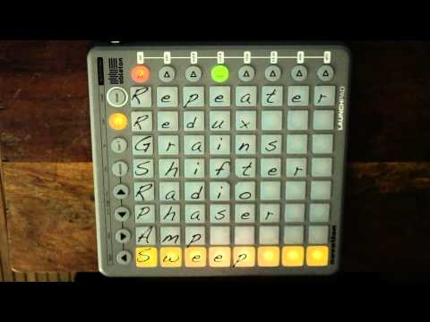 FxGrid for Launchpad and Ableton Live