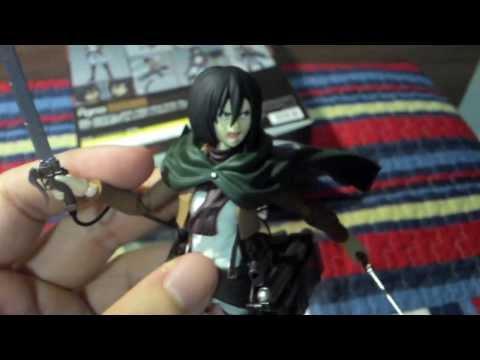 Review Mikasa Ackerman (Attack on Titan) Figma - PT/BR