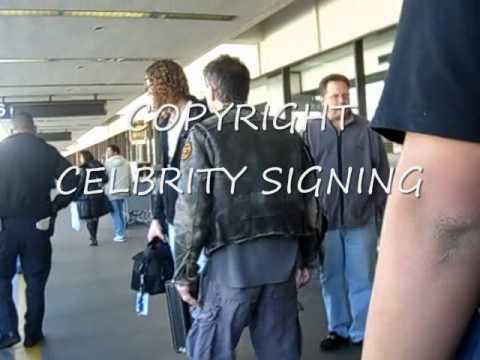 Eddie Van Halen telling Paparazzi off after he Told Eddie to have another DRINK!