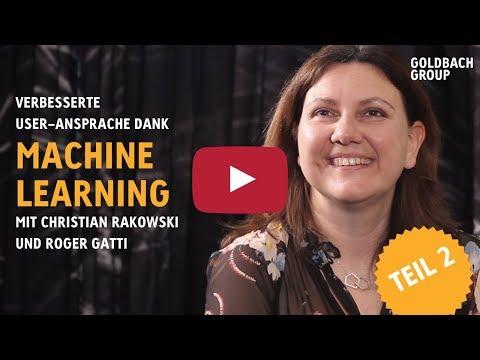 Verbesserte Useransprache dank Machine Learning | TEIL 2
