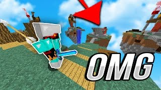 THE NEW MINECRAFT SKYWARS CHALLENGE... (15 Minute CHALLENGE)