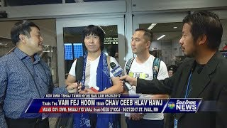 SUAB HMONG NEWS: Wang Fei Hong and Cha Cheng Hla Hawj arrived in America