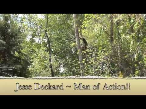 "Jesse Deckard ""Man of Action"" Starring in: ""The Double Trunk Tree"""