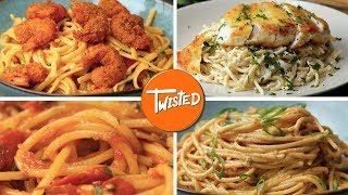 10 Easy And Delicious Spaghetti Dishes | Spaghetti 10 Ways | Twisted
