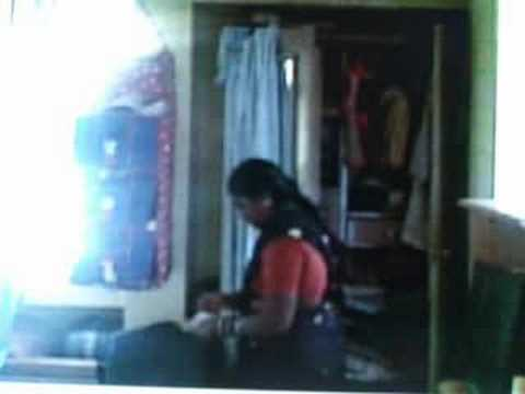 Video of live theft by a housemaid