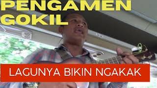 Lihat aksi pengamen jalanan di jalan Kopo Bandung,lagunya bikin ngakak  SUBSCRIBE YA, LIKE & SHARE😍