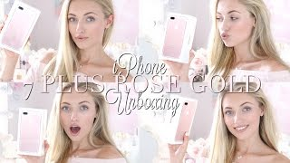 NEW iPhone 7 PLUS ROSE GOLD Unboxing! | Freddy My Love