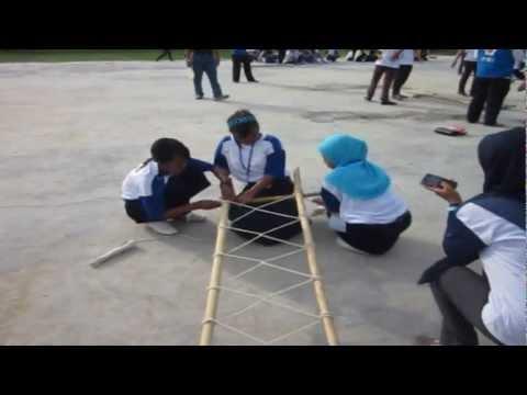 Lomba Membuat Tandu - SMPN 4 Kapuas Murung