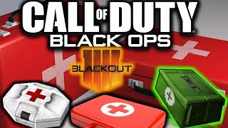 Black Ops 4: BLACKOUT Healing Loot Items + Mechanics EXPLAINED!