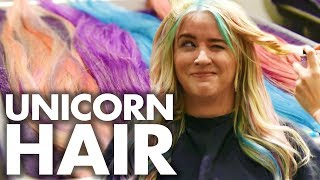 Download Lagu Lily's Pastel Unicorn Hair for COACHELLA! (Beauty Trippin) Gratis STAFABAND