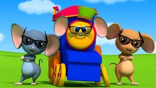 Three Blind Mice | Songs For Kids | Kids Rhymes by Bob The Train