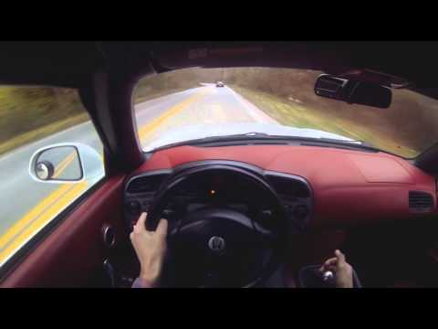"S2000 chasing Porsche on the ""Touge"" [POV]"