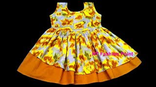 New style kids cloths baby summer girls dress | Cutting & Stitching