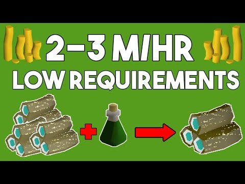Make 2-3 M/hr with this Low Requirement Money Maker! - Oldschool Runescape Money Making Guide [OSRS]