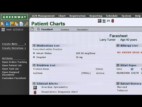 Greenway Emr 2 Minute Primesuite Overview Youtube