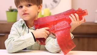 Gummy Nerf Gun - Don't Mess with Daddy