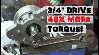 48 to 1 Cycloidal Torque Multiplier