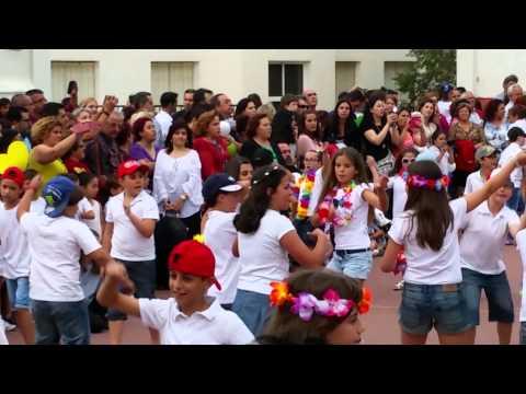 Baile fin de curso alumnos de 3º y 4º de Primaria del Colegio de La Presentación