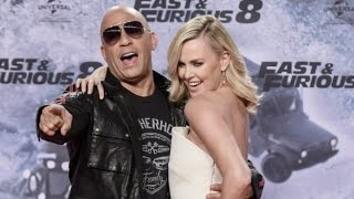 Fast and Furious 8 Premiere Berlin | Vin Diesel , Charlize Theron Red Carpet