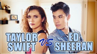 Download Lagu Taylor Swift VS Ed Sheeran MASHUP!! 20 Songs | ft. Alyson Stoner & Sam Tsui Gratis STAFABAND